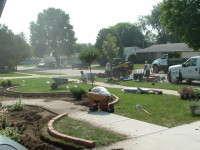 Overseas Deployment Leaves Landscape Work Unfinished