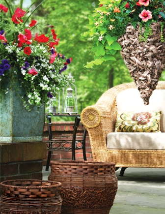 Online Only: Decorative Containers Give Instant Impact