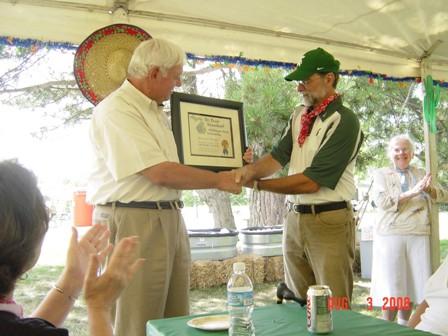 Krauskopf Named Honorary Member of MFGC