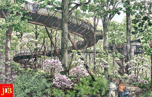 Walkway Collapse At Atlanta Botanical Garden Kills 1