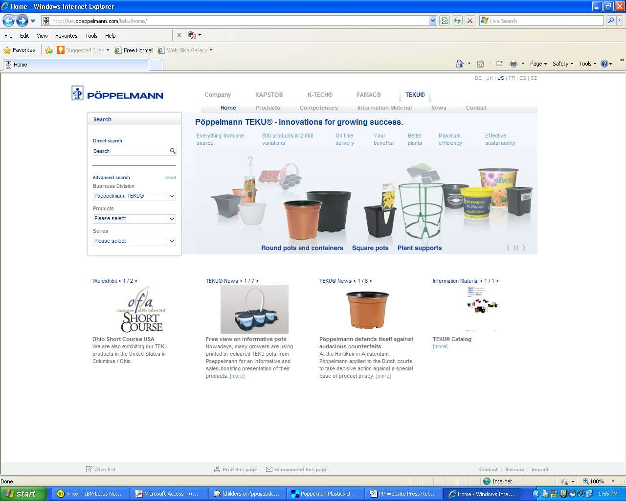 Pöppelmann Plastics Launches Redesigned Website