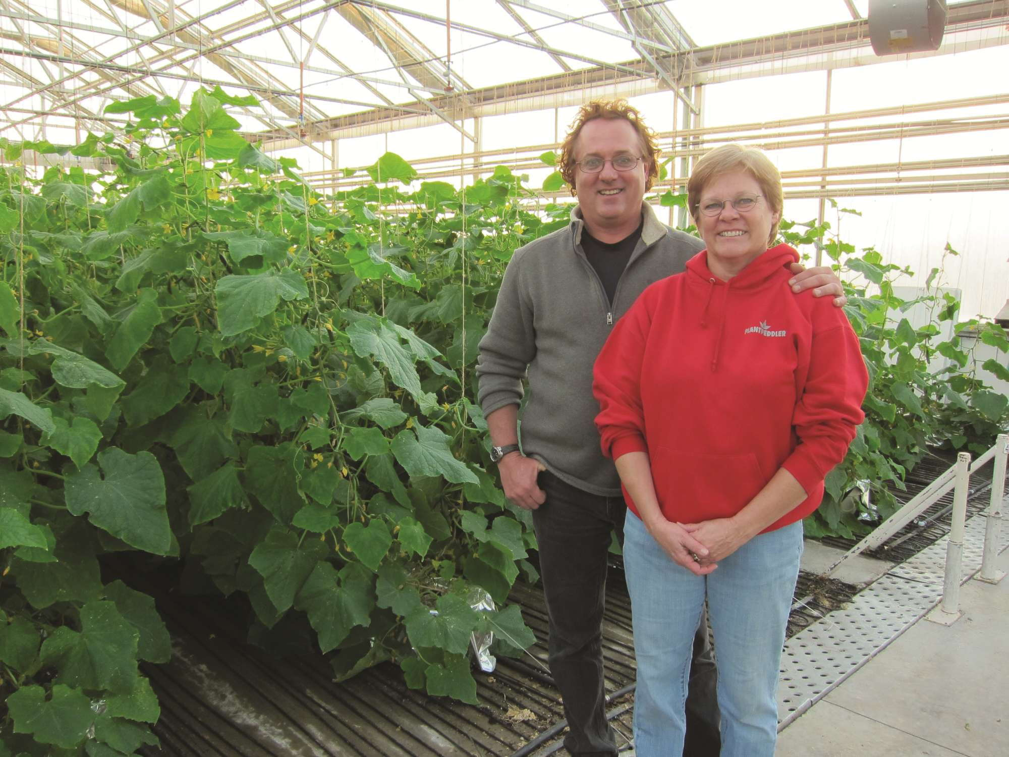 Plantpeddler Succeeds With Produce