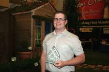 Rainbow Greenhouses' head grower Rob O'Hara, finalist for Head Grower of the Year.
