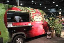 The Burpee Home Gardens Grow Anywhere food truck