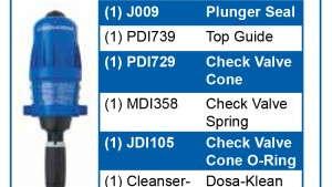 Dosatron International Introduces New Mini Maintenance Kits