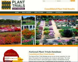 The National Plant Trialing Program website