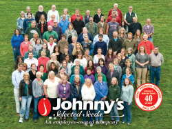 Johnny's employees celebrate the company's 40th anniversary.