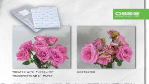Oasis Grower Solutions' Floralife Transportcare Paper Approved For Use In California