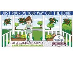 Rockwell Farms fertilizer display