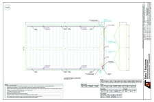 Proper planning, including detailed diagrams like this Delta T AutoCAD drawing, are essential for making sure greenhouse upgrade projects run smoothly.