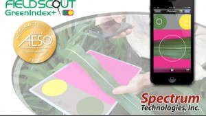 Spectrum's GreenIndex+ App Receives AE50 Gold Award From The American Society Of Agricultural And Biological Engineers