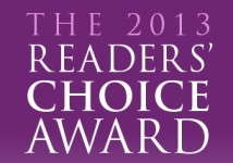 Readers' Choice Award 2013