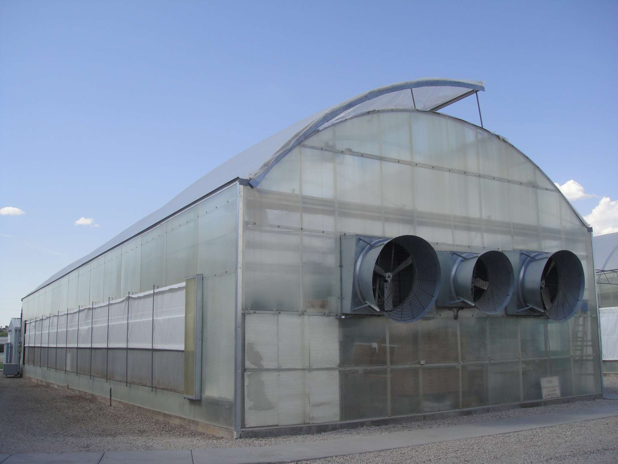 Natural Ventilation And Fog Increase Cooling Efficiency