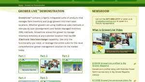 GrowerLive Enterprise Software Can Be Used With Or Without Pay-By -Scan