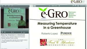 Greenhouse Growing Goes Electronic With Online Tools And Education