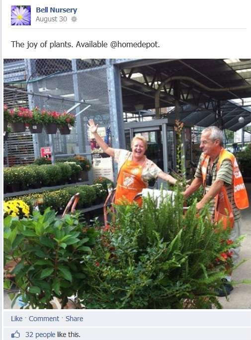 Bell Nursery Pulls Consumers To The Home Depot With Social Media Marketing Greenhouse Grower