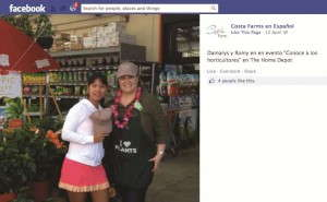 The Costa Farms en Espanol Facebook page features content that speaks to the Hispanic consumer.