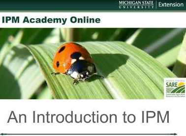 Integrated Pest Management Webinars Now Available On-Demand