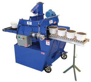 Ball carries equipment from both large companies and smaller manufacturers like SB Machinerie.