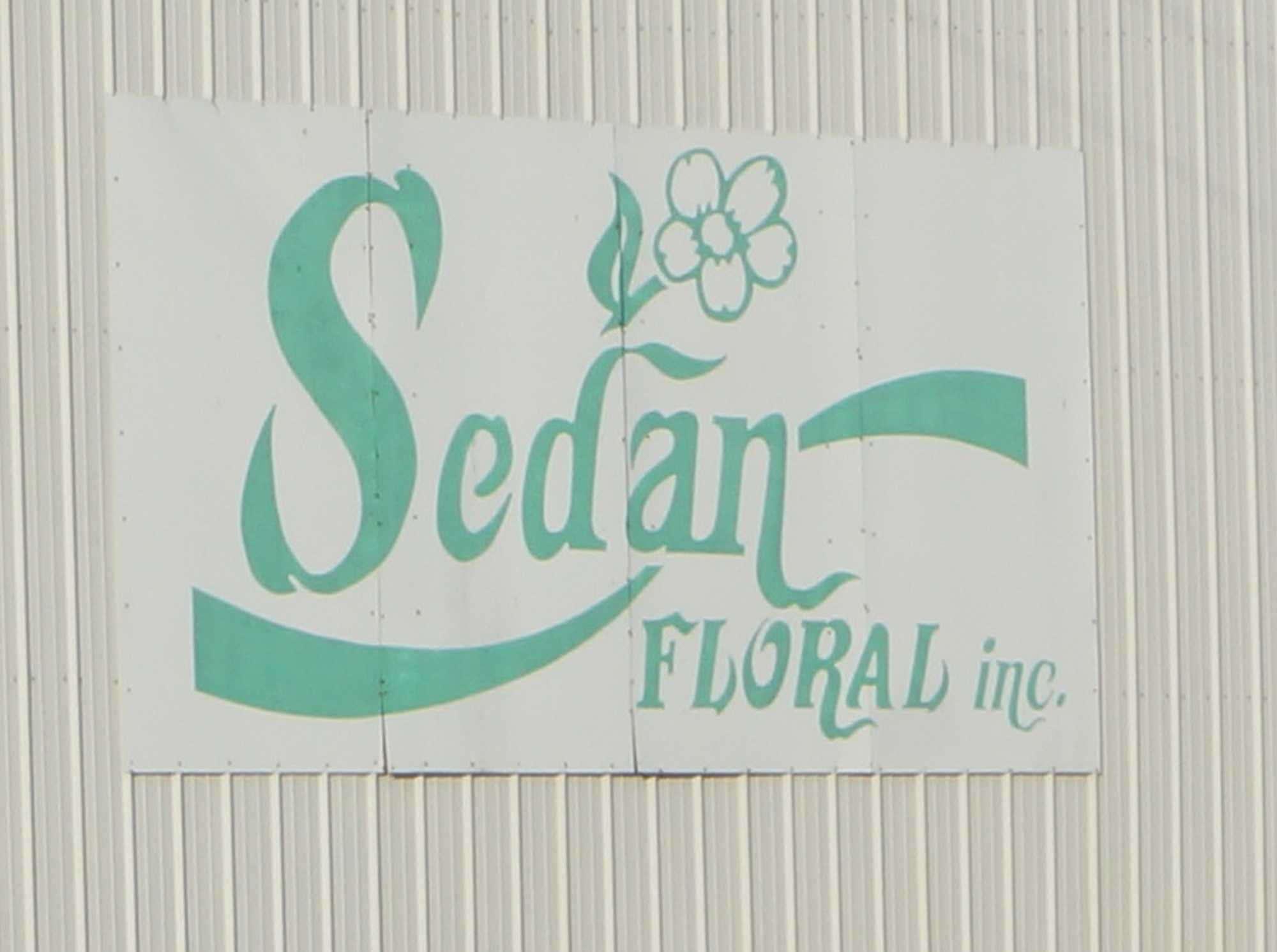 1 Sedan Floral sign