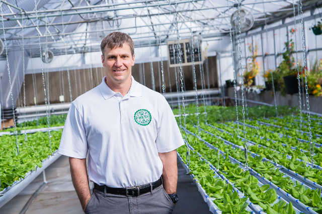Rich Naha, CEO of Circle Fresh Farms, is committed to supplying local food to several markets in the U.S.