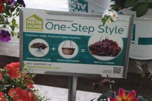 HGTV HOME Plant Collection wants consumers to know how easy it is to grow a beautiful container with pre-planted mixes.
