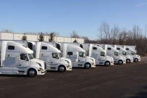 Masterpiece Flower Company/Peak Transportation trucks