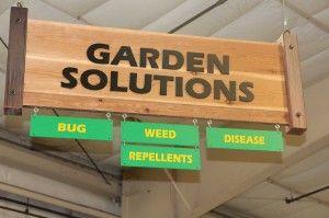 Green Acres Nursery: Bright Signage