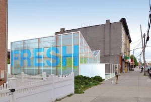 The first greenhouse prototype for Grow A Lot will launch in Brooklyn, and act as a model for future projects across the U.S.