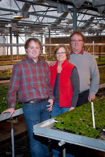 The Gooder Family, owners of Plantpeddler