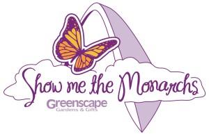Greenscape Show Me The Monarchs Logo