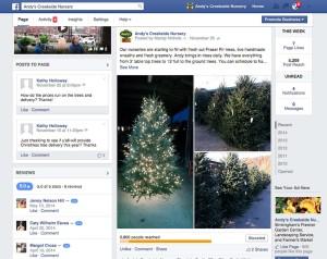 Andys Creekside Nursery FB page