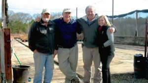 Mark Griffith, Dr. Michael Dirr, Jeff Beasley, Terri McEnaney