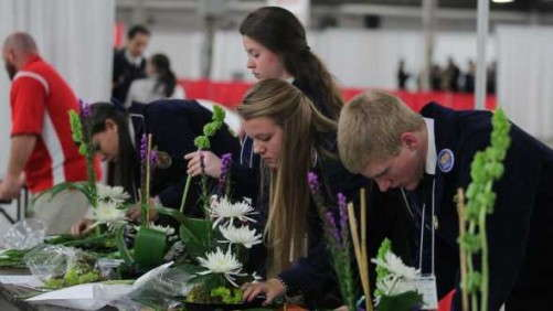 Students Tackle Real-Life Challenges At National FFA Floriculture Event