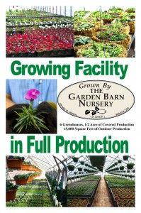 Garden Barn Nursery Growing Facility Signage