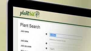 Plantbid website screenshot
