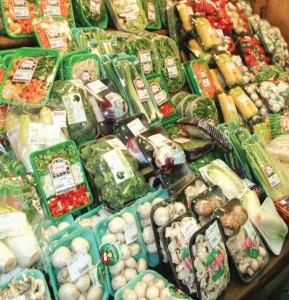 packaged vegetables