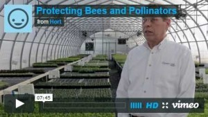 New Video On Protecting Bees And Pollinators Educates Horticulture Industry Professionals