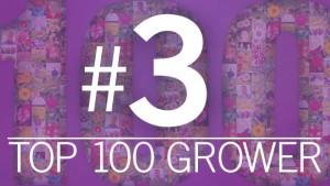 Top 100 Growers No. 3