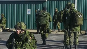 GGS Structures Hosts Canadian Army Reserve Tactical Training