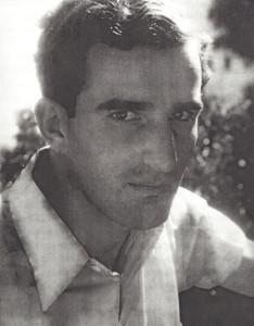Wertheim in 1941, taken by his future wife, Margit.