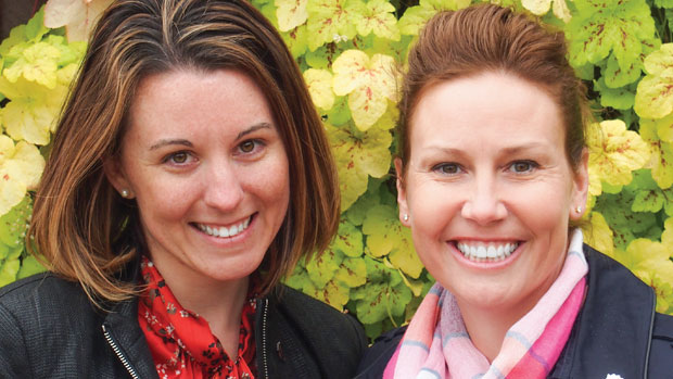 Read a profile on the women behind Luxflora, Kate Santos (left) and Rebecca Lusk, in our Women In Horticulture web series at bit.ly/womeninhorticulture.