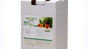 UMASS Fertilizer Trials Recommend Nature's Source Organic Plant Food 3-1-1