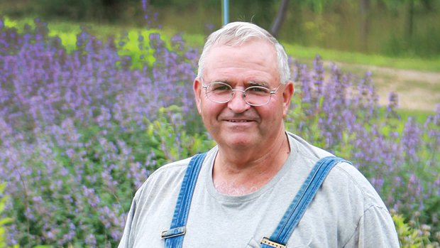 Mike McGroarty, owner of Mike's Backyard Nursery