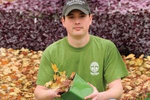 John McClaren is the head perennial grower for Sheridan Nurseries