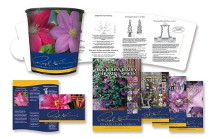 Raymond Evison Clematis Packaging (HIP Labels)