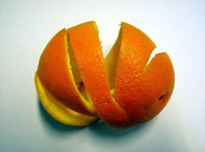 organic ingredients orange peel