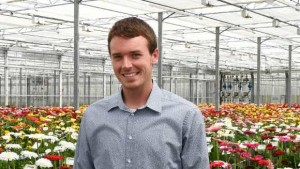 Garrett Owen Joins Michigan State University Floriculture Team