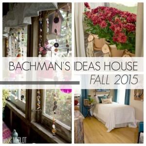 Bachman's Idea House Fall 2015