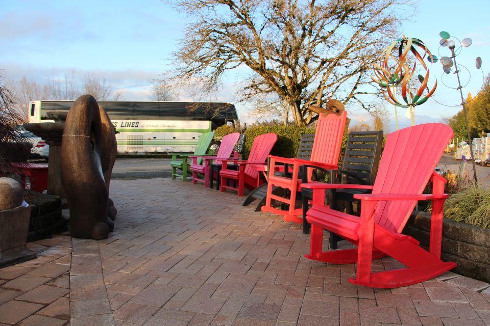 Adirondack chairs at Cedar Rim